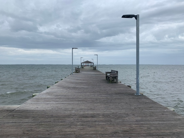 A cloudy and depressing day in Public Landing, MD.