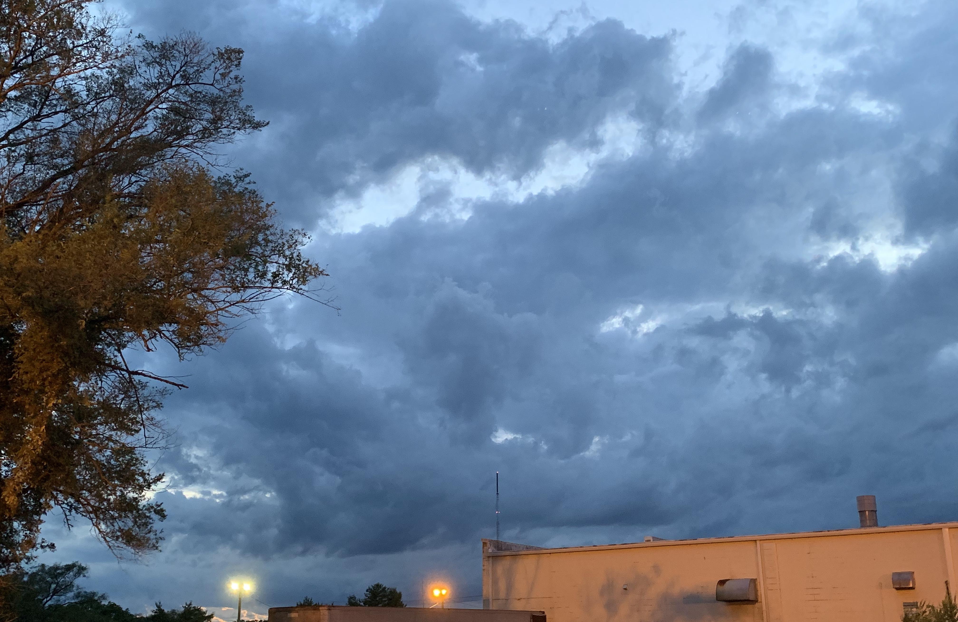 Approaching severe weather. Salisbury, Maryland.