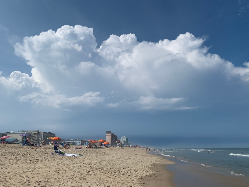 Thunderstorms Developing over Ocean View, Delaware