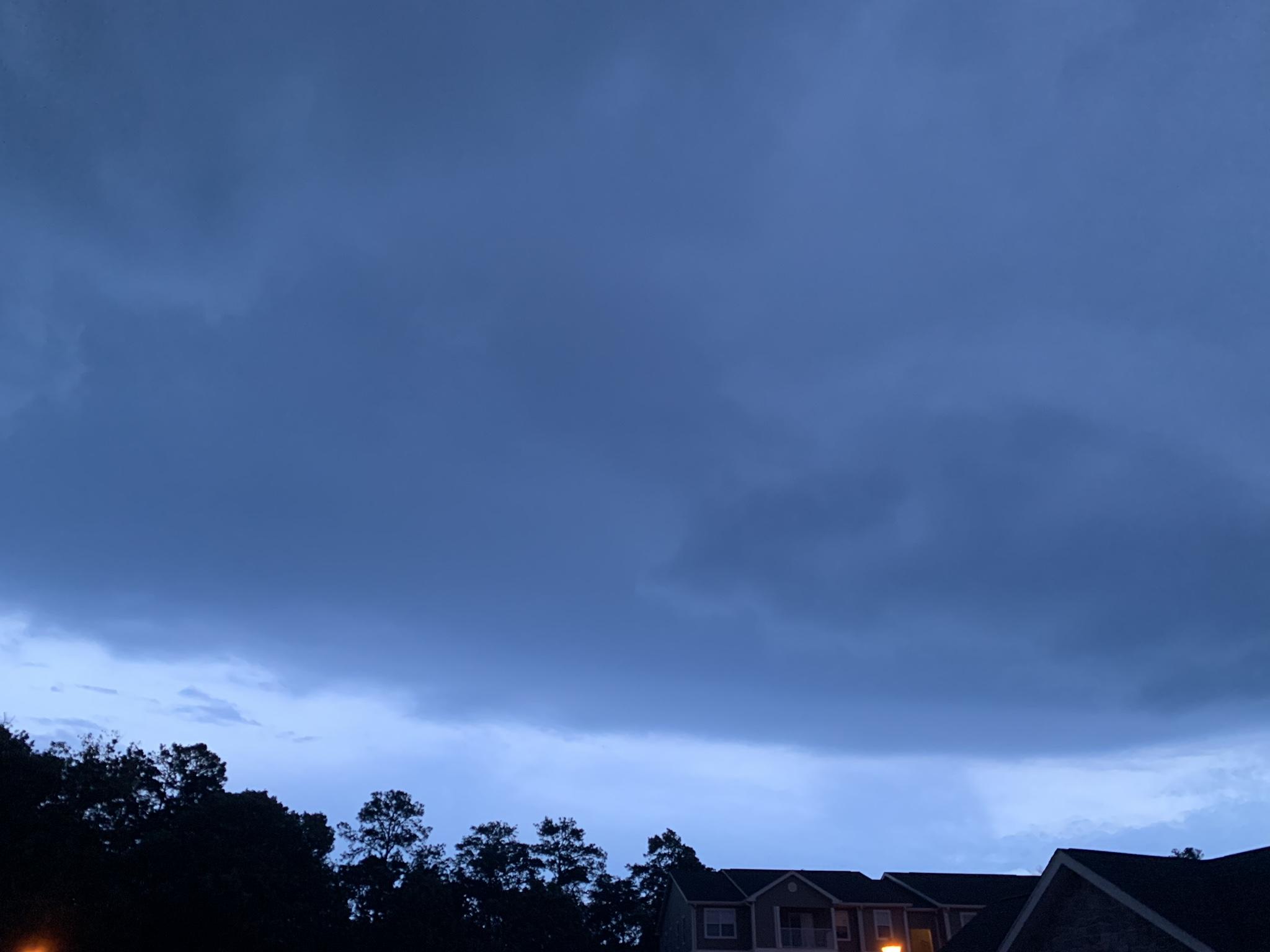Shelf cloud. Delmar, Maryland.