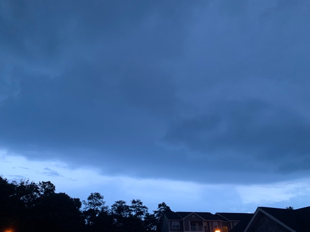 Shelf cloud. Delmar, Maryland.