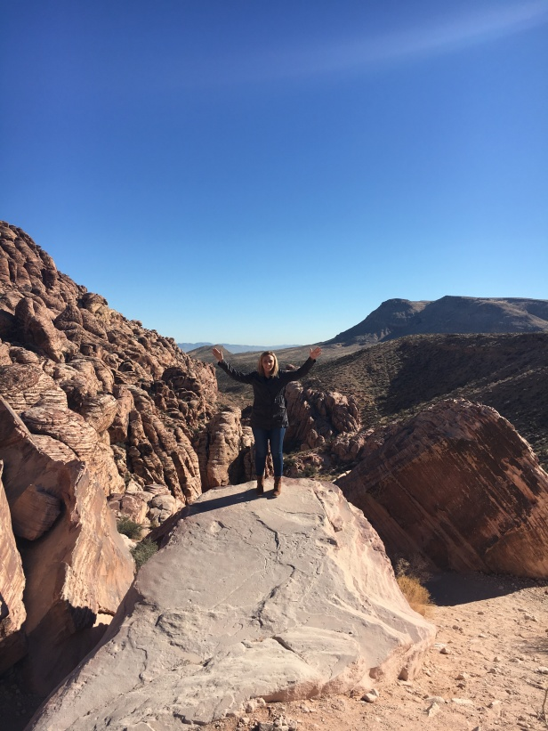 Calico Tanks in Red Rock Canyon. Located right off of the road.